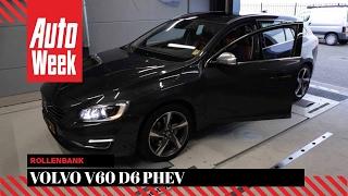 Volvo V60 D6 PHEV (2013) - Op de Rollenbank