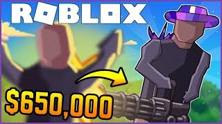 i spent $650,000 on the MINIGUN in Strucid & it's DUMB BROKEN 🤣 (Roblox Fortnite)