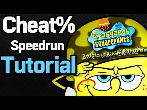 SpongeBob BFBB: Cheat% Beginner Tutorial