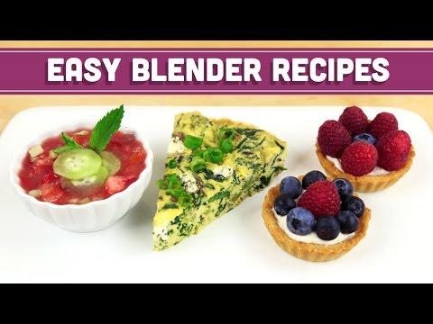 Blender Recipes! Gazpacho! Quiche! Tart! Mind Over Munch: Wedding Registry Collaboration