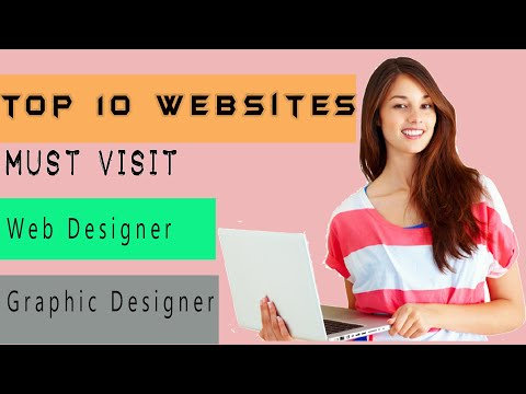 Top 10 Websites For Web And Graphic Designer || Design Knowledge || #topwebsiteTrend2019