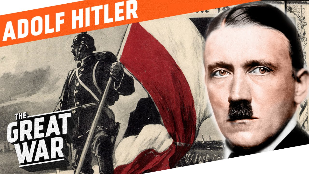 Adolf Hitler in World War 1 I Portrait - YouTube