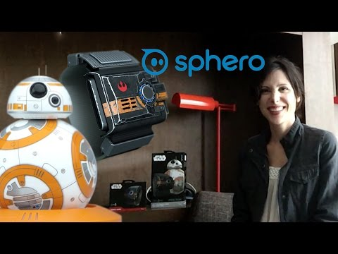 Sphero BB-8 and Force Band Interview!