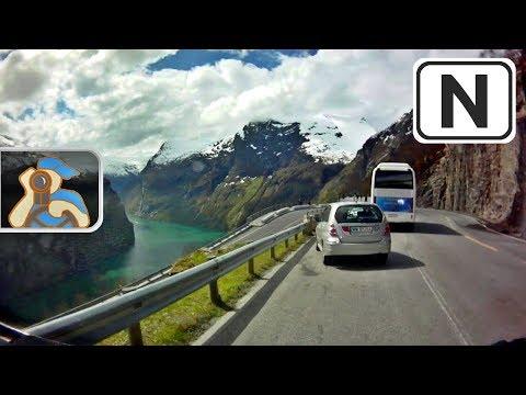 Norge. Rv650, Rv63. ✕ Fv102 - Geiranger