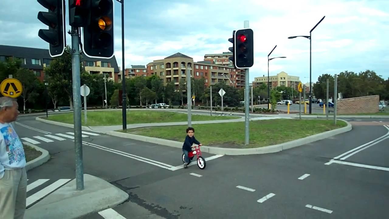 Maxime At Sydney Park Bike Track Youtube
