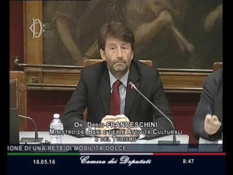 Audizione ministro Franceschini in Commissione Ambiente - 18.05.2016