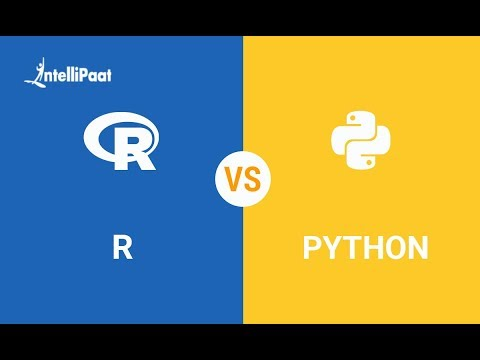 R Vs Python - What Should I Learn In 2019? | R And Python Comparison | Intellipaat