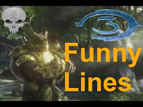 Lines of Halo - Halo 3 Brutes + Extras (funny dialogue)