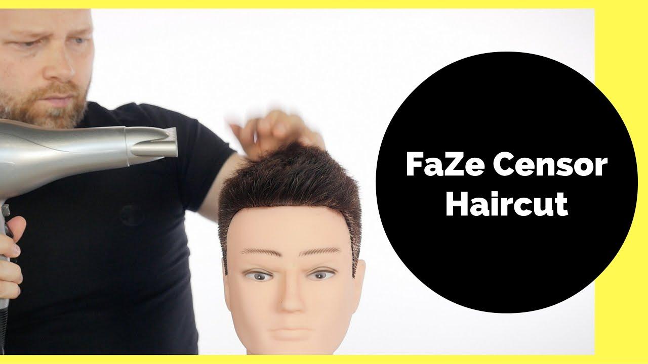 Faze Censor Haircut Thesalonguy Youtube