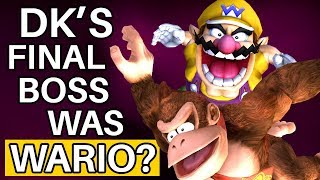 How Wario Almost Replaced King K. Rool in Donkey Kong Country
