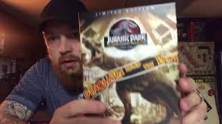 Jurassic Park 4K ultra HD Blu-ray digital HD 25th anniversary Best Buy exclusive steel book combo