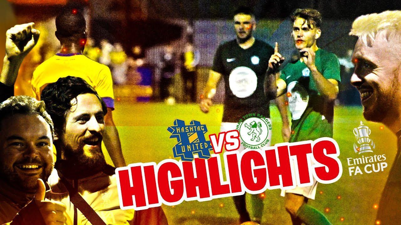 HASHTAG UNITED LIVE ON BBC SPORT!! - EMIRATES FA CUP HIGHLIGHTS vs SOHAM TOWN RANGERS