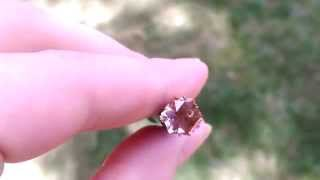 Gorgeous Custom Cut Oregon Sunstone Gem from KGC