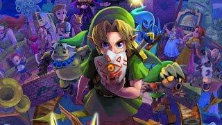 CGR Undertow - THE LEGEND OF ZELDA: MAJORA'S MASK 3D review for Nintendo 3DS