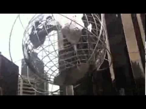Globe in Columbus Circle, New York City