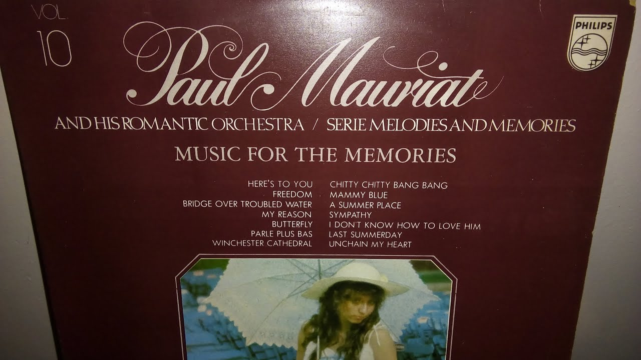 Paul Mauriat Vol 10 Music For The Memories 1974 Youtube