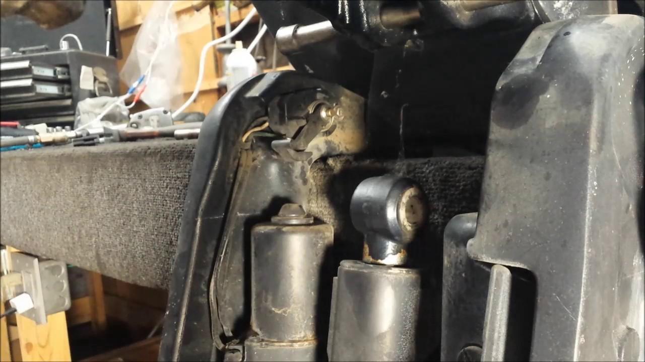 hight resolution of evinrude xp 175 hp teardown part 7 power trim tilt