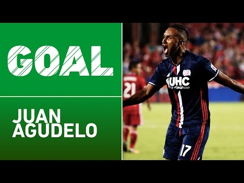 GOAL: Juan Agudelo buries one from the top of the box