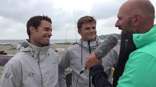 49er Sailing - Diego Botín & Iago Lopez (ESP) - 2018 European Championship - Day 6