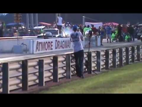 Kye Kelley beats Daddy Dave Atmore Dragway round 1