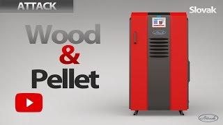 ATTACK WOOD&PELLET - Návod na rozkúrovanie a čistenie kombinovaného kotla
