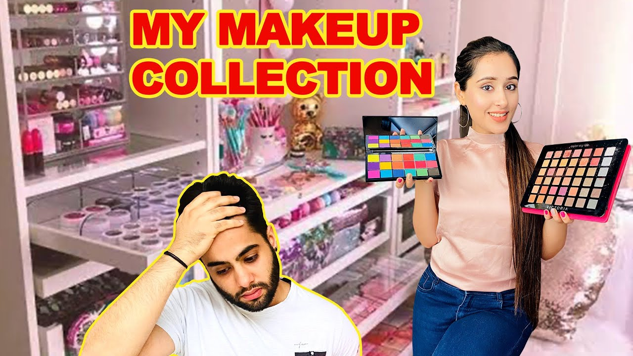 My MAKEUP COLLECTION & STORAGE | Glam Girl