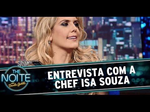 The Noite (15/10/14) - Entrevista com a chef Isa Souza
