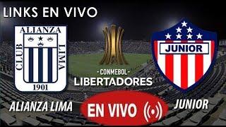 ALIANZA LIMA VS JUNIOR EN VIVO| VER EN VIVO HOY 19/04/2018-POR INTERNET