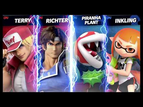 Super Smash Bros Ultimate Amiibo Fights   Terry Request #316 Terry U0026 Richter Vs Random Team