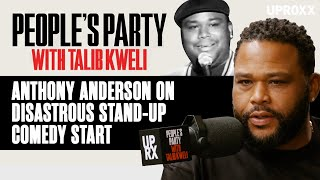 Anthony Anderson Describes His Disastrous Start As A Stand Up Comedian People s Party Clip