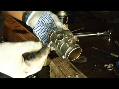 Throttle body rebuild on BMW R1100 and R1150 with Cata Dan kit