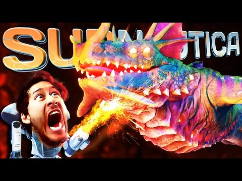 Subnautica | Part 59 | FIGHTING THE SEA DRAGON!!