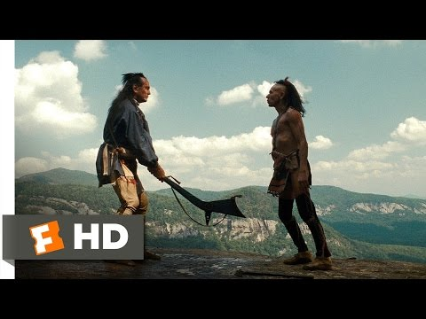The Last of the Mohicans 55 Movie   Chingachgook Battles Magua 1992 HD