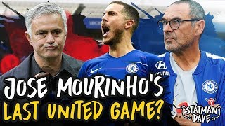 How Mourinho Should Set Up To Exploit Sarriball... | Predicted XI, Formation and Tactics