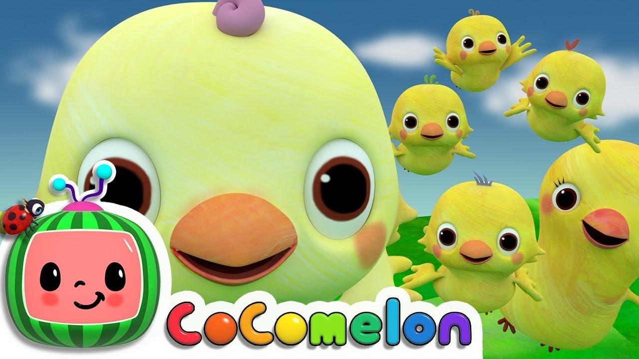 Five Little Birds 2  | CoCoMelon Nursery Rhymes & Kids Songs