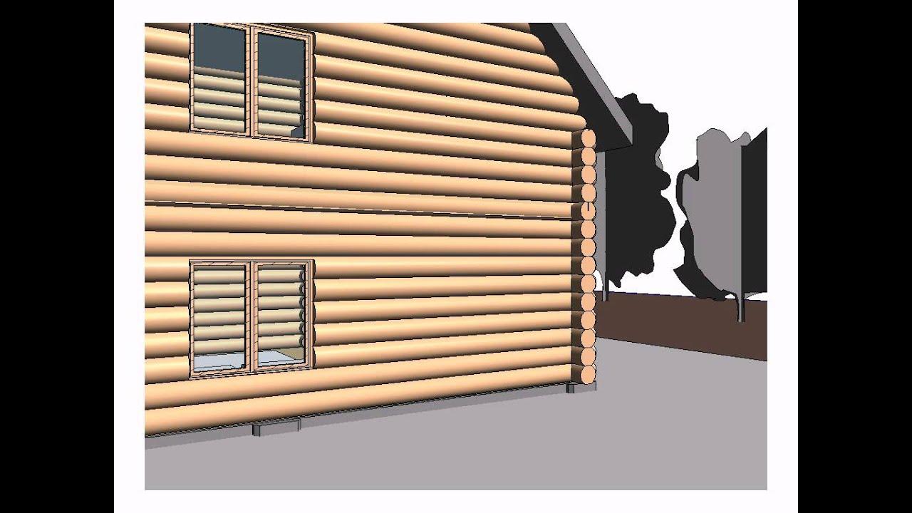 Log House Revit You