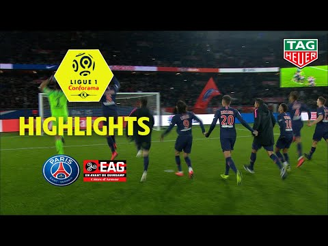 Paris Saint-Germain - EA Guingamp ( 9-0 ) - Highlights - (PARIS - EAG) / 2018-19
