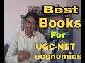 Best books for ugcnet economics