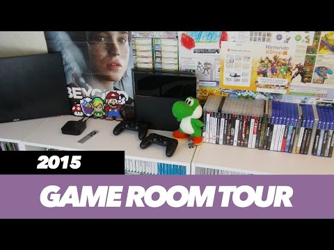 HUGE Game Room Tour   Collectables & Gaming Setup   TVGS