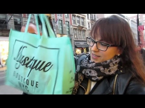 Shopping a Soho e cena da... urlo :-P - New York Vlog