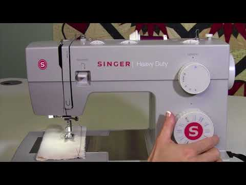 Singer Heavy Duty 4423 10 Selecting Stitches & Settings