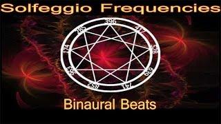 Solfeggio Frequencies Meditation - Feel Enlightened | Theta Binaural Beats 9 Sacred Healing Tones