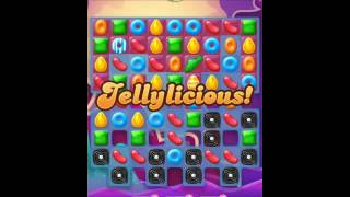 Candy Crush Jelly Saga Level 106 - No Boosts