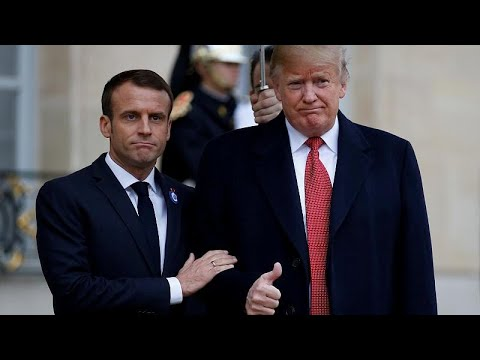 Is the Trump-Macron 'bromance' over?
