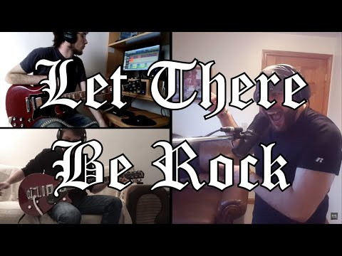 Ac Dc Fans Net House Band Let There Be Rock 2018 Version Collaboration Hd