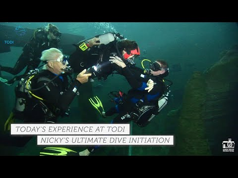 TODI TODAY: Nicky's Ultimate Dive Initiation