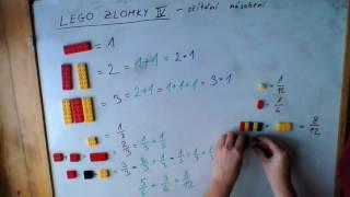 Lego zlomky 4 - sčítání a násobení celým číslem