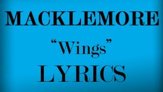 Wings Lyrics Video - Macklemore