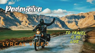 ennile chudu thalamayi   padayatra status   Traveling whatsappstatus   padayatra lyrics video status