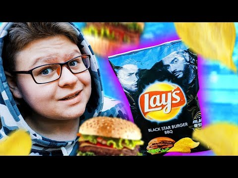 ЧИПСЫ ОТ ТИМАТИ И ЕГОРА КРИДА / Lays Black Star Burger П��